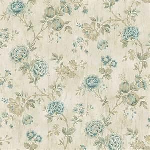 Chesapeake Wisteria Blue Grasscloth Wallpaper Sample ...
