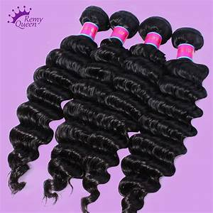 7A Brazilian Virgin Hair Deep Wave Brazilian Hair Weave ...