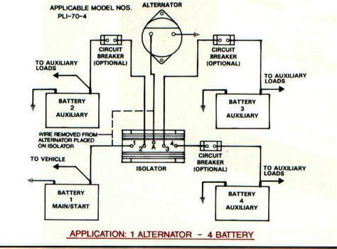 Battery Isolators Marine Systems