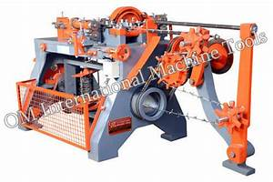 Barbed Wire Making Machine Manufacturer From Batala