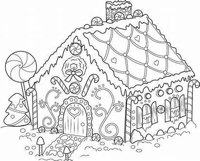 Gingerbread Coloring Pages Boys