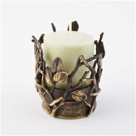 twig candle holder twig tea light candle holder michael michaud table