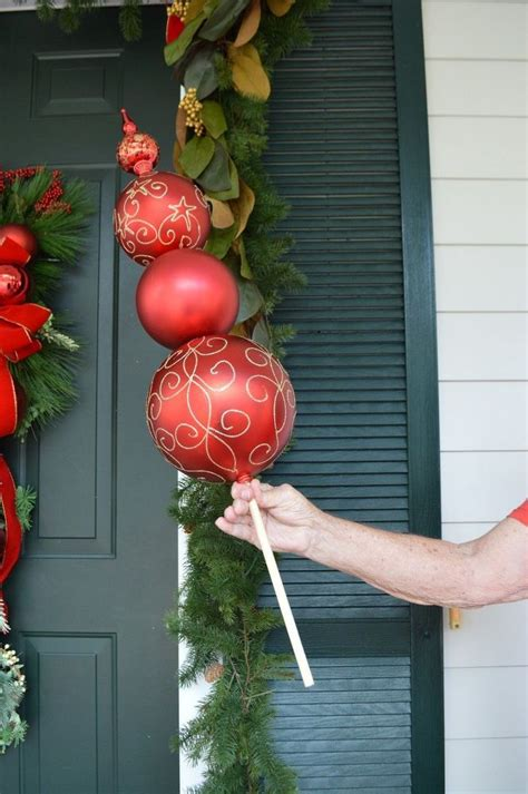 ideas  christmas topiary  pinterest