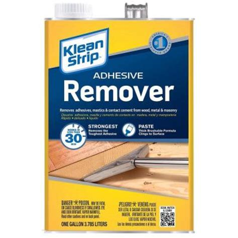 Tile Remover Home Depot by Klean 128 Oz Adhesive Remover Gkas94325 The Home