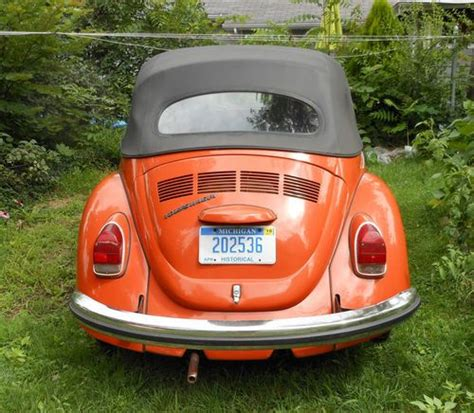 Purchase Used 1971 Convertible Vw Volkswagen Beetle Bug