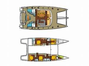 Luxury Sailing Catamaran Worlds End Privilege 65 Layout