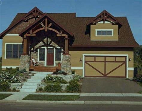 exterior paint schemes for brown roofs paint color