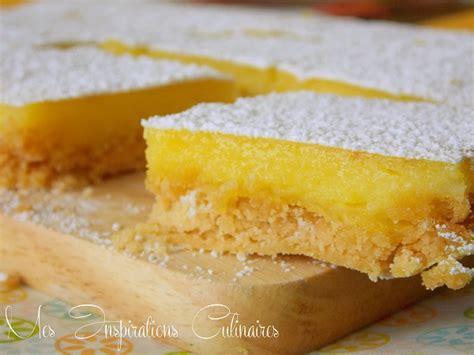 recette carrés au citron le cuisine de samar