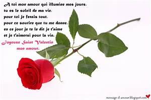 Ides De Textes Pour La Saint Valentin Message D39amour