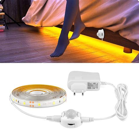 bed night light waterproof cocina luces led strip
