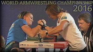 Women World Armwrestling Championship 2016 Right Hand Finals