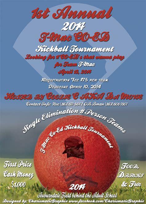 mac tracy mcgrady st annual kickball tournament
