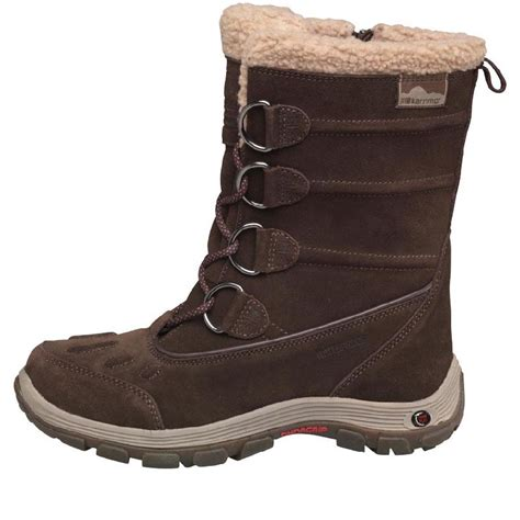 buy karrimor womens cordova weathertite snow boots brown