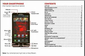 Download  Motorola Droid Bionic User Manual Available Now