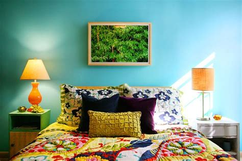 Colorful Bedroom Ideas For And by 69 Colorful Bedroom Design Ideas Digsdigs
