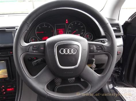 Audi A4 Custom Design Steering Wheel  A&t Autostyle