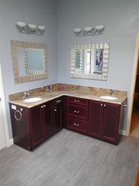 L Shaped Bathroom Vanity Design by L Shaped Vanity