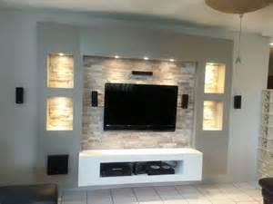 steinwand wohnzimmer led the 25 best ideas about tv unit design on tv cabinet design tv wall mounting