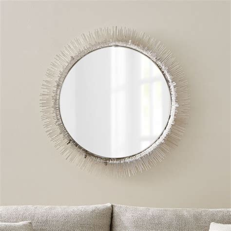 Mirror Image Clarendon Large Silver Wall Mirror Reviews Crate
