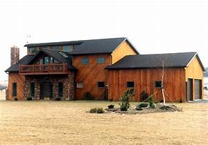 cool and natural pole barn house design homesfeed With cool pole barns