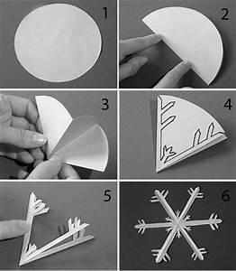 Flocon De Neige En Papier Facile Maternelle : bricolage enfants les p 39 tits pieds canadiens ~ Melissatoandfro.com Idées de Décoration