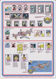 Safety Card Ural Airlines A320  6  Business Class