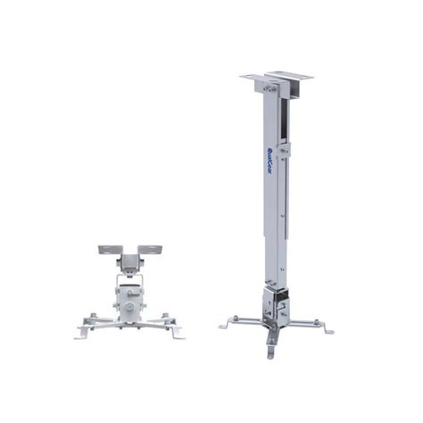 qualgear universal projector ceiling mount white qg pm