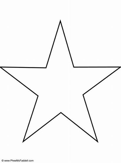Star Coloring Printable Pages