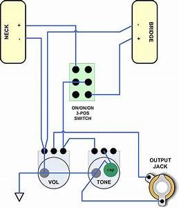 Electric Guitar Wiring Schematics