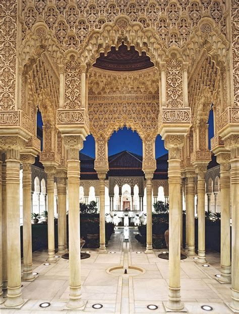 andalusian architecture alhambra andalusia andalucia still