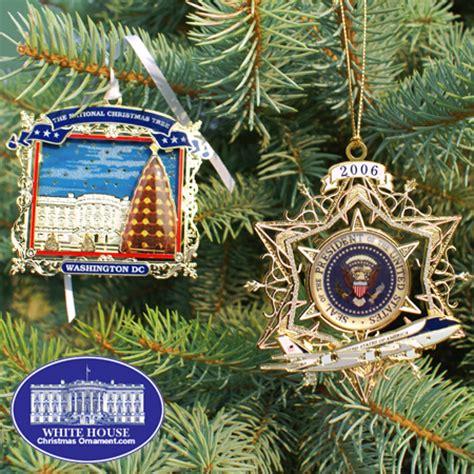 2007 secret service ornament gift set