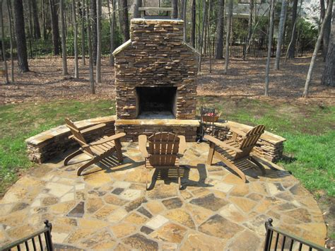 Outdoor Fireplaces : Archadeck Of Charlotte