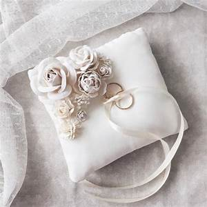 ring holder ring bearer pillow wedding ring box shabby With how to make a wedding ring pillow