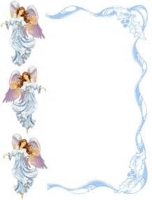 Free Angel Borders and Frames