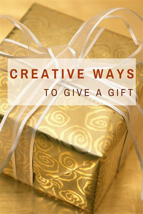 8 Creative Ways To Give A Gift  No Ordinary Wrapping
