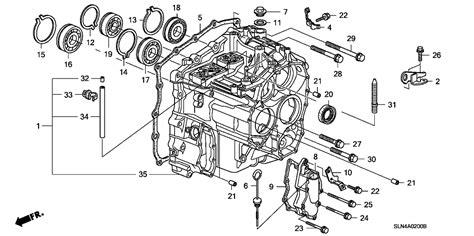 Honda Fit Diagram by 21231 Rmm 000 Genuine Honda Hanger Transmission