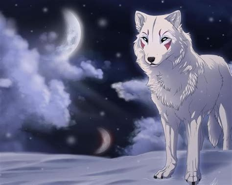 Anime Wolf Wallpaper Android by Wolf Anime Wallpapers Free Vitaliymiroshenko