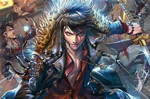 Anime, Boys, Sword, Fantasy, Art, Wallpaper