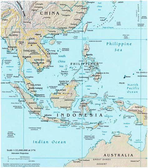 thailand map bali