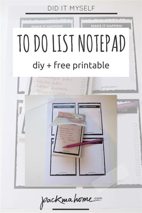 Diy To Do List Template by Free Printable Archives Packmahome