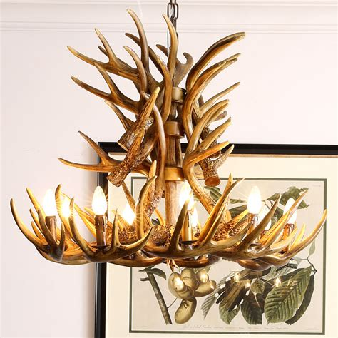 faux antler chandelier lighting ceiling lights chandeliers faux antler