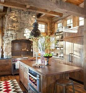 15 Warm Cozy Rustic Kitchen Designs For Your Cabin