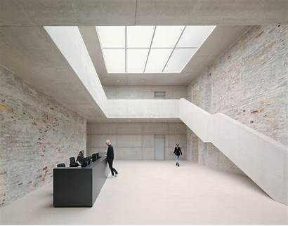 Chipperfield Studios Jacoby David Architects Menges Simon