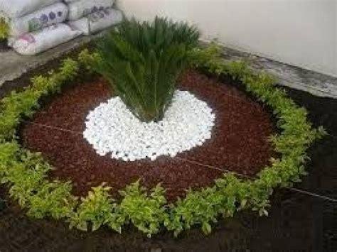 elegante jardines decorados  piedras resultado de