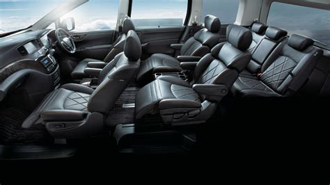 Nissan Elgrand Backgrounds by Elgrand 7 8 Seater Mpv Nissan Singapore