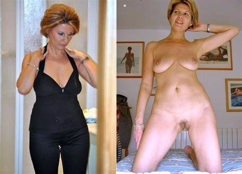Nasty Mature Dressed And Undressed