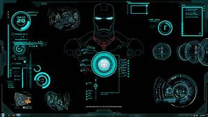 Jarvis Iron Man Wallpaper HD - WallpaperSafari