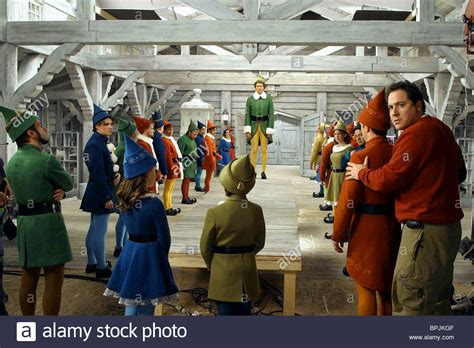 jon favreau elf will ferrell jon favreau elf 2003 stock photo 31143295