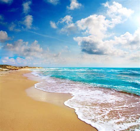 sun beach  sea wallpaper nature  landscape