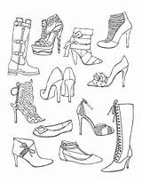 Coloring Pages Shoes Adult Shoe Adults Colouring Wellie Wishers Drawing Pattern Printable Sheets Template Clothing Illustration Books Getdrawings Children Uploaded sketch template